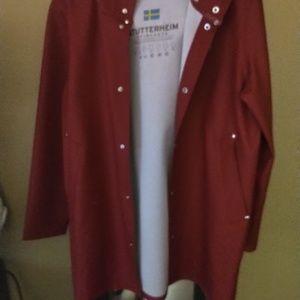 Stutterheim Stockholm Raincoat Medium /Red